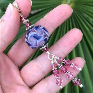 Jewelry - Sterling silver Swarovski Crystal pendant